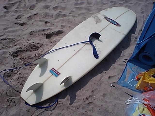 サーフィン終わり