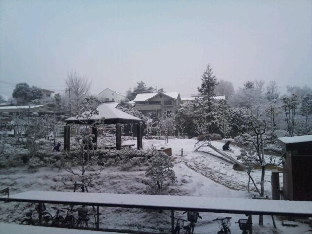雪の香里ヶ丘