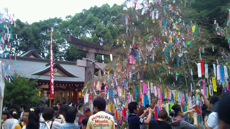 七夕祭り@<br />  機物神社